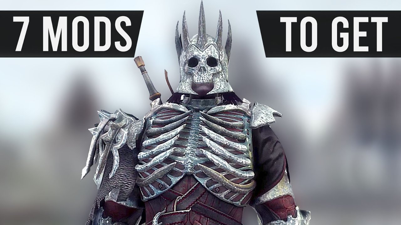 Skyrim 7 Weapon & Armor Mods You Need To Try! thumbnail