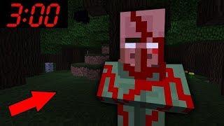 SAKIN GECE 3'TE BU KÖYE GİTMEYİN 😱💀 - Minecraft (KORKUNÇ)