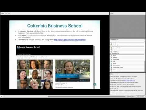 Kaltura Video Solutions for the Campus in Higher Education