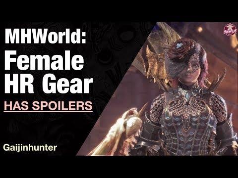 Monster Hunter World: High Rank Female Gear [SPOILERS]