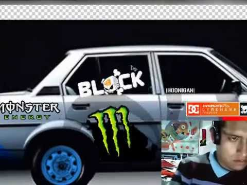 Dise o modificado para auto stickers arequipa youtube for Donde venden stickers para pared