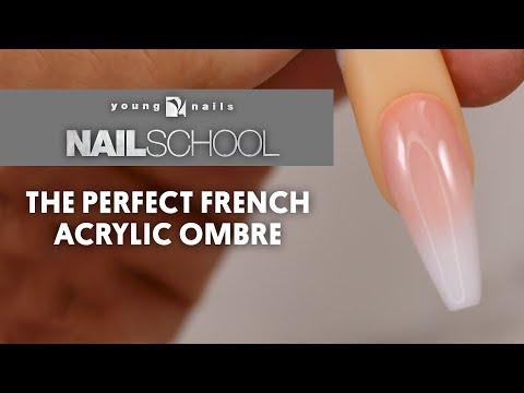 THE PERFECT FRENCH ACRYLIC OMBRE
