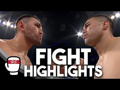 Joseph Parker v Hughie Fury | FIGHT HIGHLIGHTS