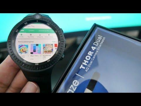ZEBLAZE THOR 4 DUAL - FIX Google Play Store (Firmware Update)