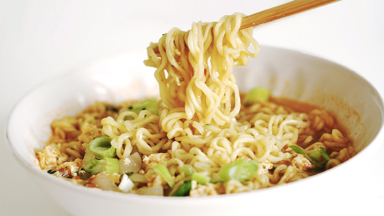 korean easy ramen recipe Korean Better 라면 Make How to  끓이기 Ramen 건강한  맛있게
