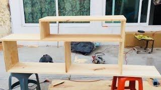 Cómo hacer mueble para pantalla (TV)