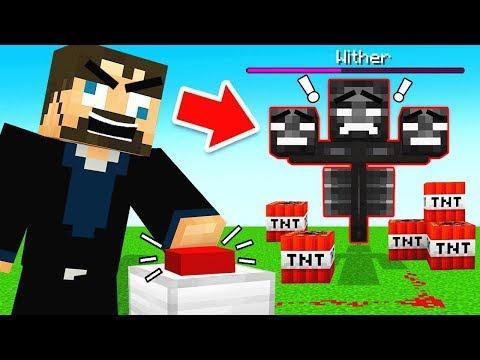 AUTO WITHER BOSS FARM! (Minecraft)