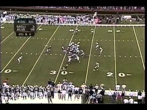 Mississippi State at Auburn, 1999