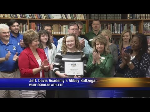 Scholar Athlete: Jefferson Davis Academy's Abbey Baltzegar