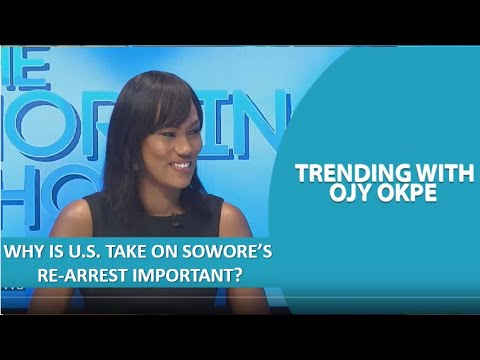 Download Why is U.S. take on Sowore's Re-Arrest important? - What's trending with Ojy Okpe