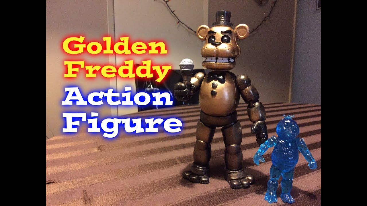 Gold Freddy Toys : Five nights at freddy s golden action figure toy