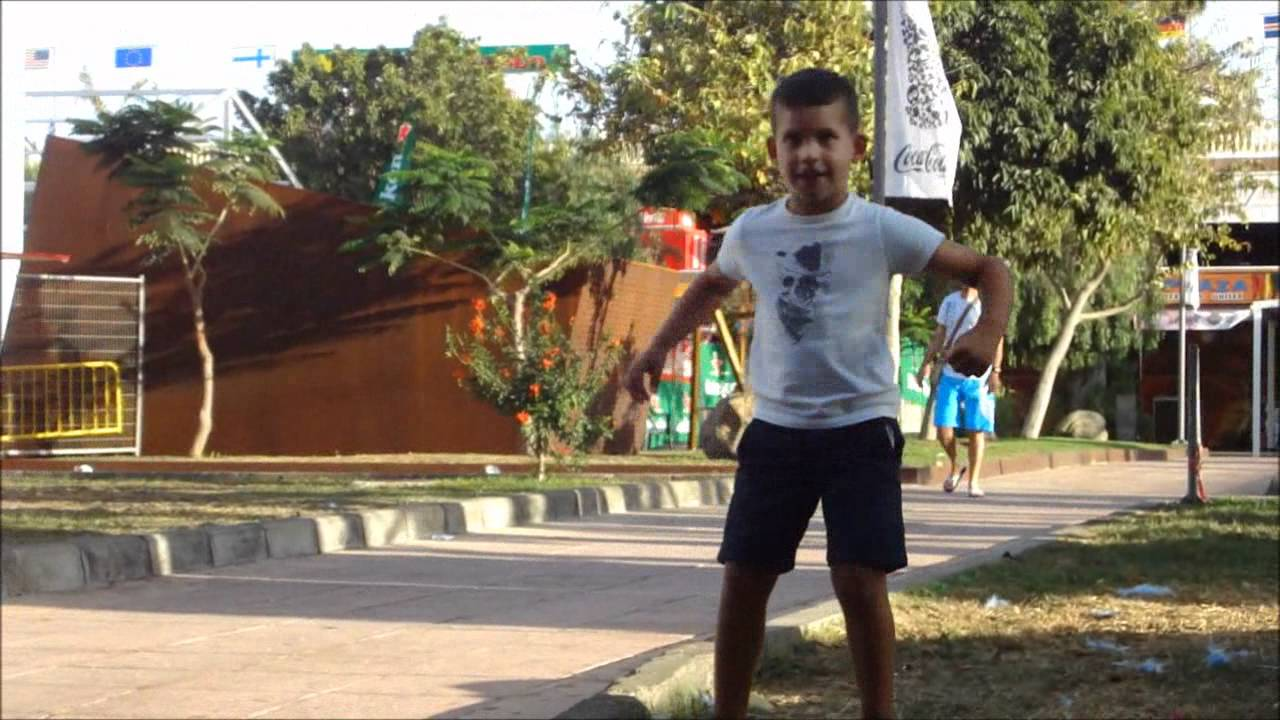 kidgay Dancing kid @ Gay Pride Maspalomas 2011
