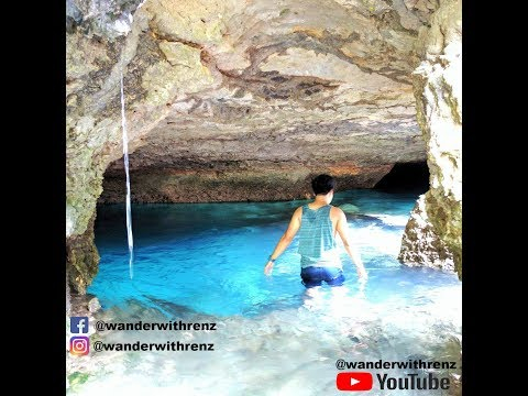Beautiful Blue Waters Cave Quezon Bukidnon Mindanao  March 2