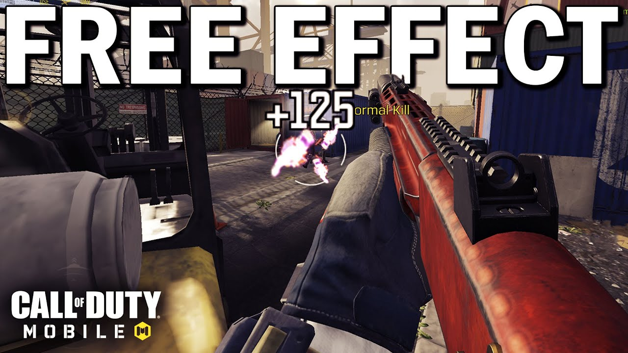Download The NEW Season 6 Update Added Free Weapon Effects to all Guns in Call of Duty Mobile!