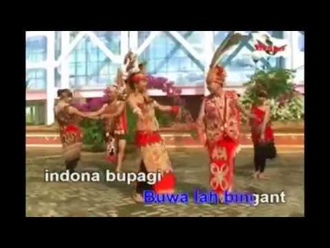 Lagu Dayak Kalimantan Barat : M. Bujoi  - Indona
