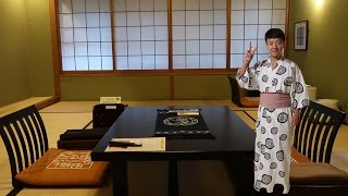 TRADITIONAL Japanese Hot Springs Hotel Experience - Ryokan