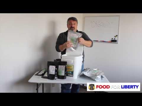Food for Liberty - Organic Bucket