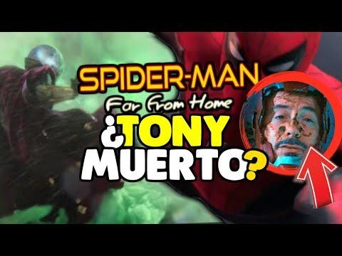 ¿TONY MUERTO? La VERDAD de MYSTERIO en SPIDER-MAN FAR FROM HOME