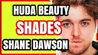 SHANE DAWSON JEFFREE STAR TATI WESTBROOK DISSED BY HUDA BEAUTY