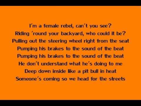 MILEY CYRUS - 4x4 (Lyrics)