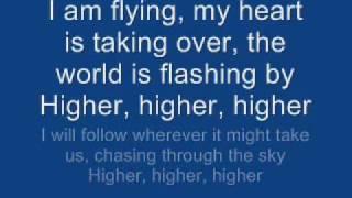 Erik Grönwall - Higher (lyrics)