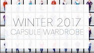 Winter 2017 Capsule Wardrobe Lookbook | 14 Pieces | 32+ Outfit Combinations