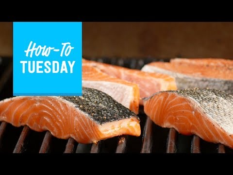 How to Grill Salmon Steaks and Fillets | Food Network