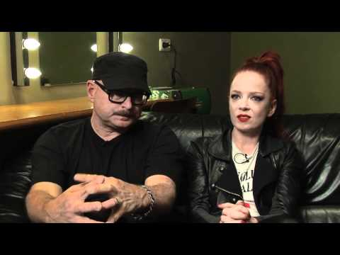 Garbage interview - Shirley Manson and Steve Marker (part 4)