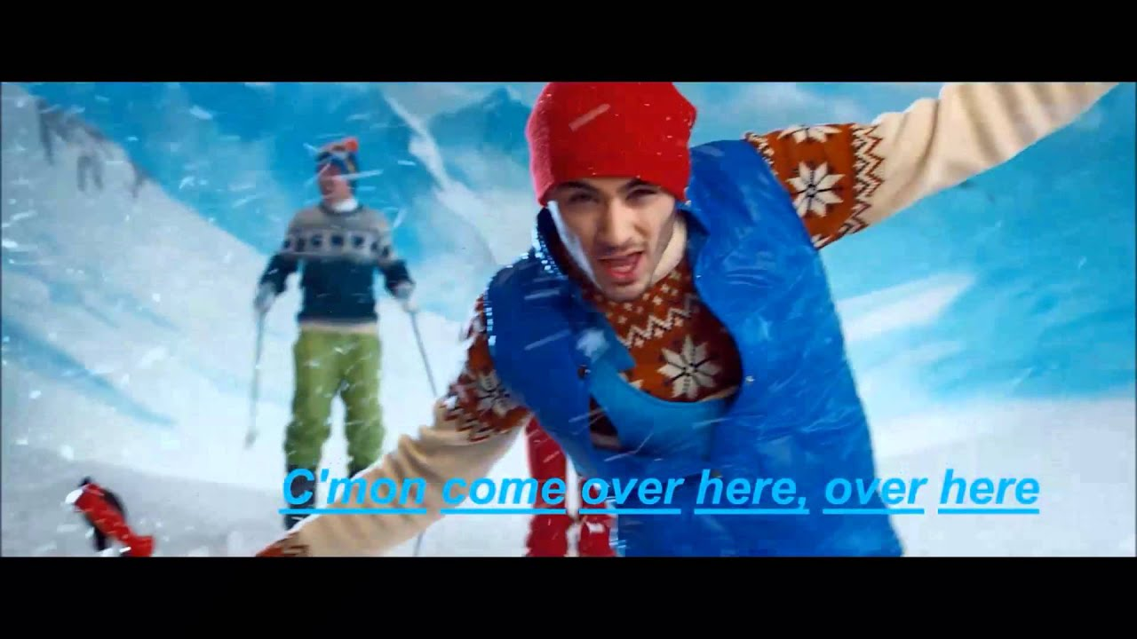 one direction   kiss you official lyrics video