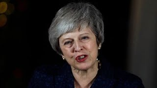 British PM Theresa May survives no-confidence vote thumbnail