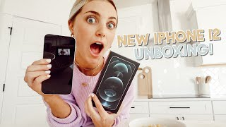 unboxing my new iphone 12 pro max + shooting a secret collab!