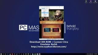 Fire Emblem Fates Special Edition CITRA PC Gameplay WIN10 720P HD