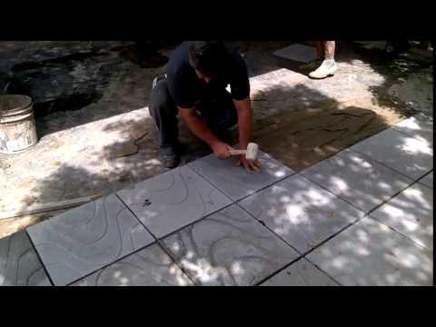 Coloca o do piso de concreto modelo copacabana 49x49x2 5 for Modelos de jacuzzi en concreto