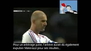 Le coup de boule de Zidane: Erreur d'arbitrage! (Analyse: JP Maldoff)