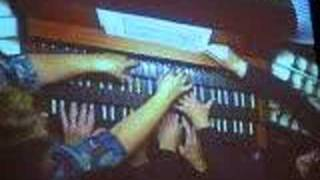 Four Organists on One Organ