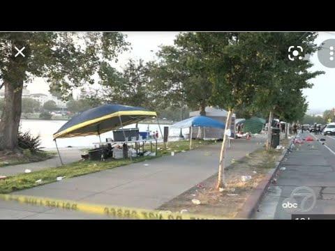 2021 Juneteenth Shooting AT Oakland Lake Merritt - My View- Eric Pangilinan
