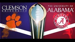 "Alabama vs. Clemson National Championship HYPE VIDEO ""THE REMATCH"""