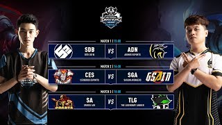 SDB vs ADN | CES vs SGA | SA vs TLG - Vòng 3 ĐTDV SerieB Mùa Đông 2019