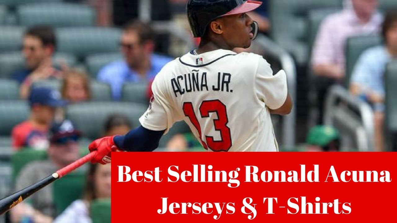 new style 64823 dce11 What are the best selling Atlanta Braves Ronald Acuna Jr. Jerseys and  T-Shirts?