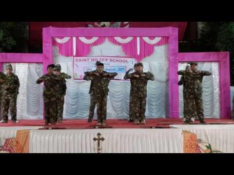 Saint hilary school best soldier dance 2017:-) !!