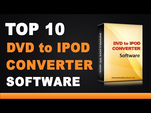 DVD to iPod Video Converter Software