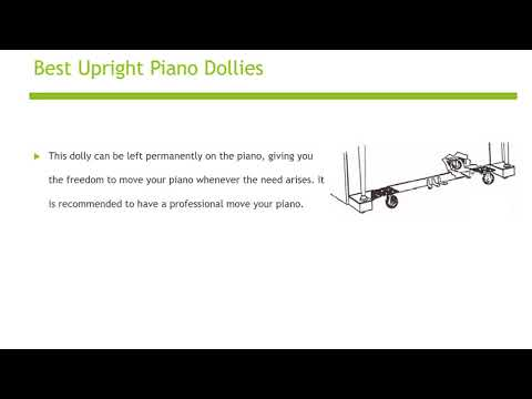 Upright Piano Dollies
