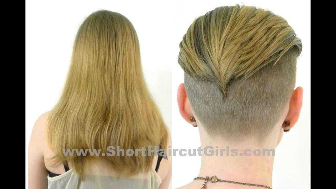 Long to Short Undercut Makeover
