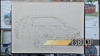 TUTORIAL- Como Desenhar Qualquer Carro| How to Draw any Car