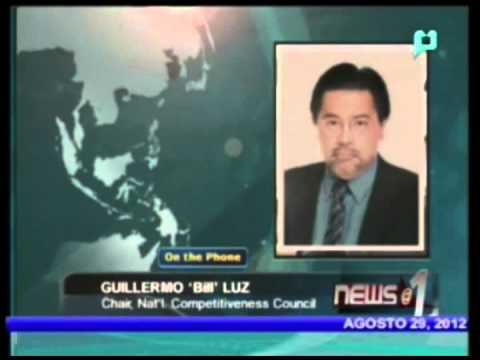Panayam kay Guillermo Luz, Chair, National Competitiveness Council