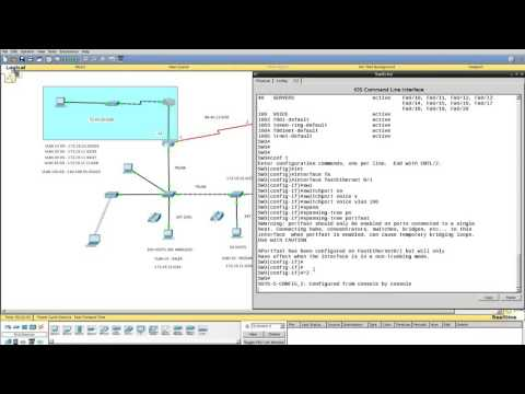 Packet Tracer Lab 7 - Voice over IP (IP Telephony)
