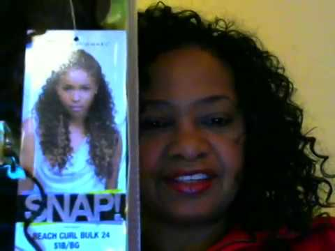 Crochet Hair For The Beach : Sensationnel Beach Curl crochet braids - YouTube