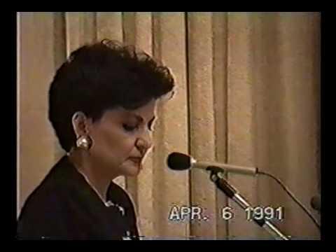 1991 00 00 Mahshid Amirshahi Sira conference Austin Texas 2