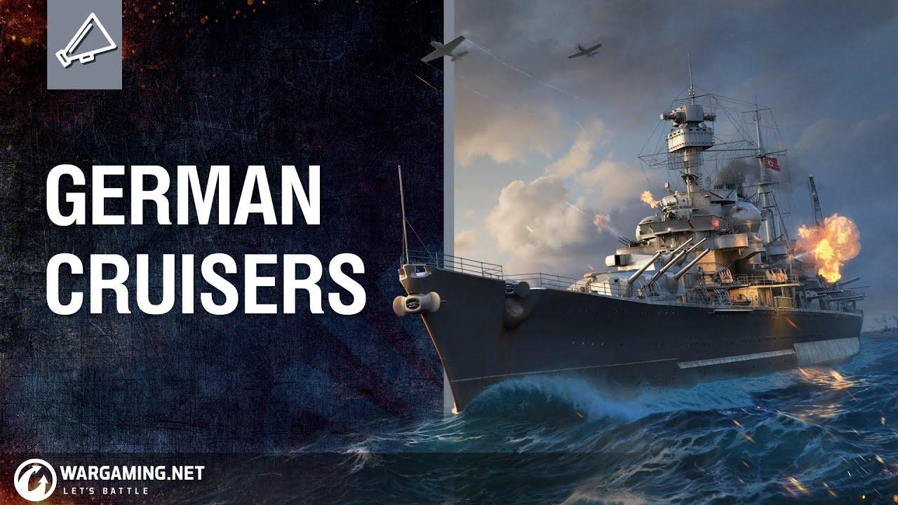 German Cruisers: Tech-Tree Revealed