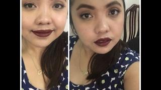 Easy Vampy / Night Make-up Look | Chel Javier